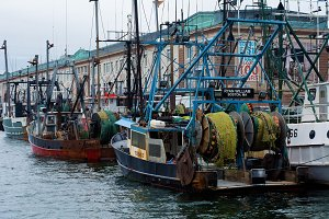 New England Fishing Boats