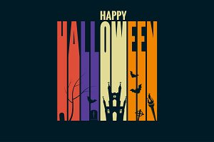 halloween background holiday design