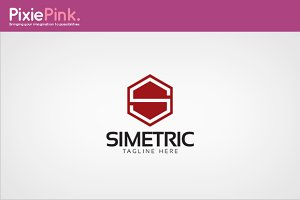 Simetric Logo Template