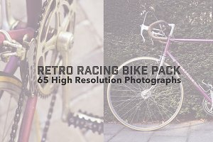 Vintage & Retro Racing Bike Pack