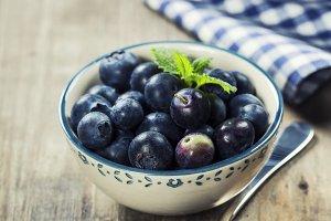 Fresh summer Blueberries