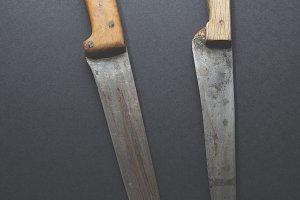 Old kitchen knives