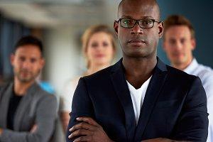 Black male executive