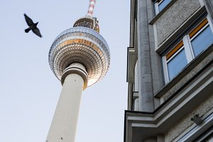 Berlin TV Tower. Alexanderplatz