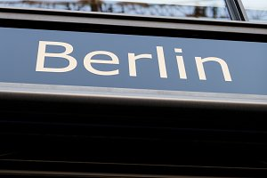Berlin Sign. Germany