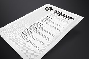 Chris Cross Resume Template