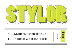STYLOR - Styles, Labels & Badges No1