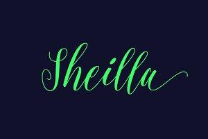 Sheilla Script