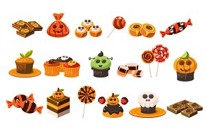 Traditional Halloween candies
