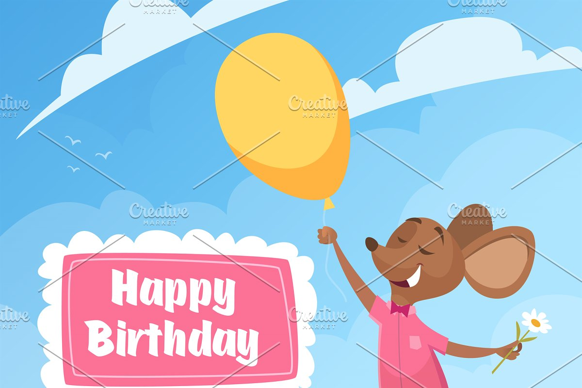 Birthday Invitation Card Funny Litt