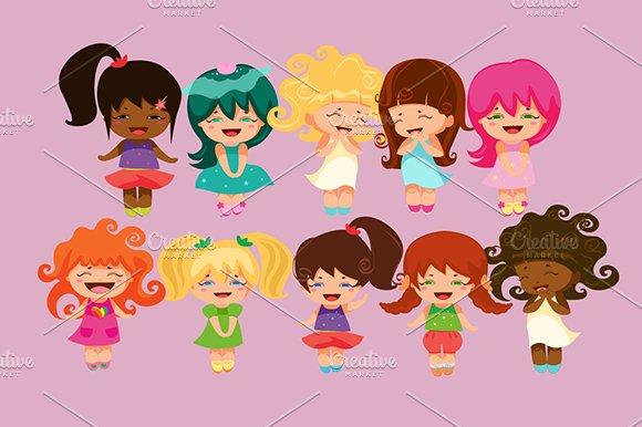 Kawaii princesses