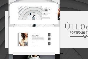 OLLO - Minimalistic Onepage Template