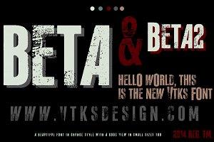 Beta ( new Vtks font )