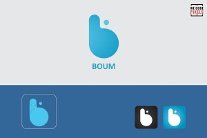 Boum Logo Template