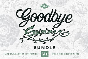 Goodbye Summer Hand Drawn Bundle