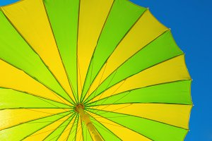 Parasol yellow green