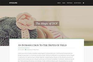 Xposure: WordPress Photography Theme