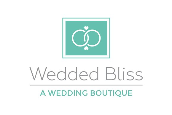 Wedded Bliss Logo Template