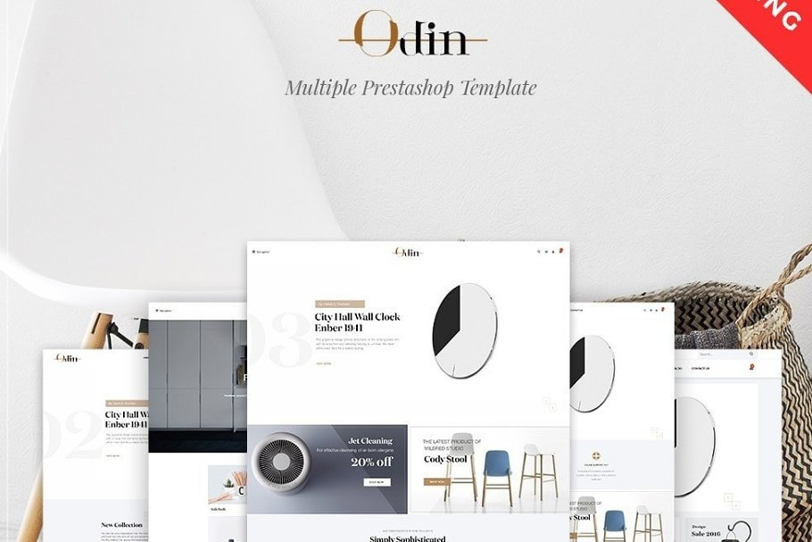 LEO ODIN PRESTASHOP THEME in Bootstrap Themes - product preview 4
