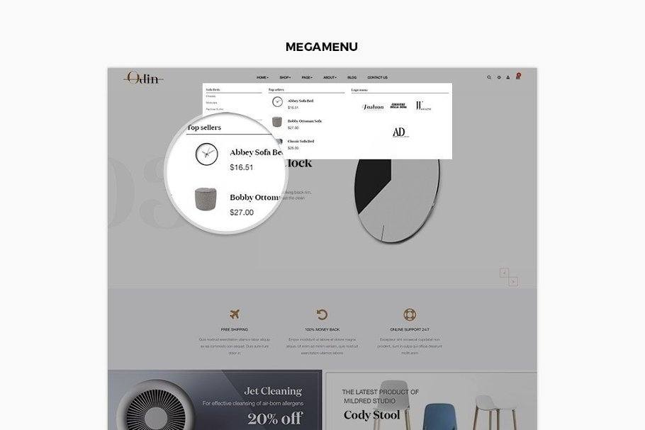 LEO ODIN PRESTASHOP THEME in Bootstrap Themes - product preview 1