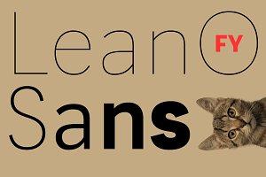 LeanO Sans FY Thin
