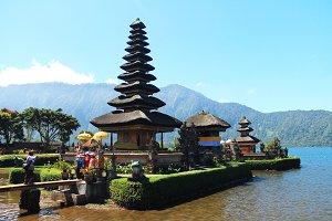 Ulun Danu Tample,Bali island
