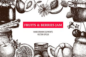 Fruits & Berries Jam Collection