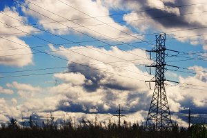 Power Lines Silhouettes (Photo)