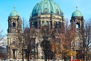 View of Berlin Cathedral, Germany