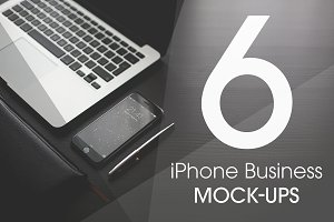iPhone Business Mock-Ups