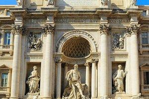 Fountain di Trevi. Rome, Italy