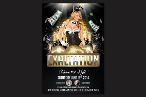 Exaltation Party Flyer