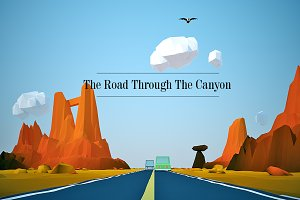 The Road Through The Canyon