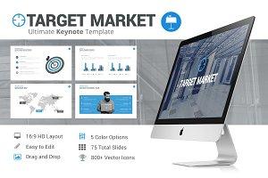 Target Market - Keynote Template