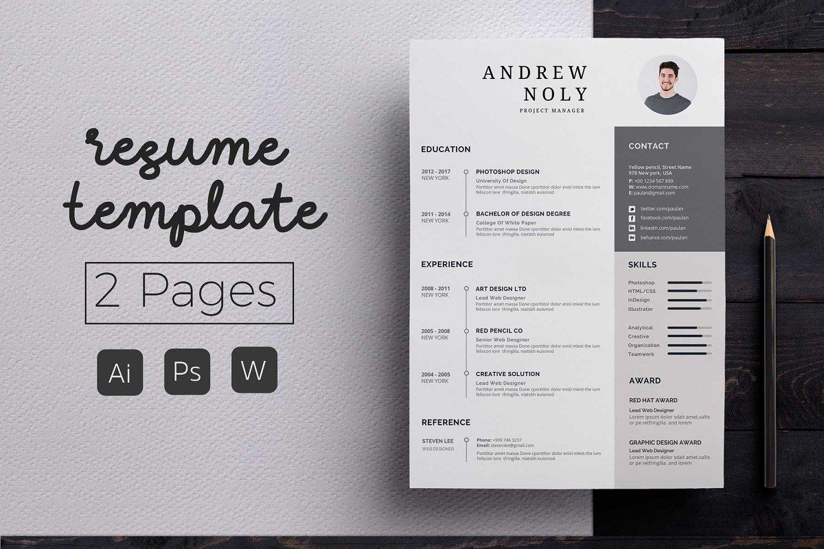 Modern Resume & CoverLetter Template