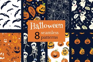 8 fun Halloween Party Patterns