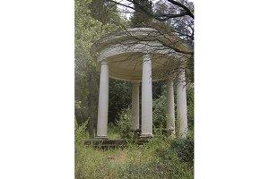 Stone Garden Gazebo (Photo)