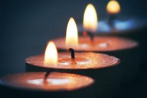 Row of Tea Candles (Photo)