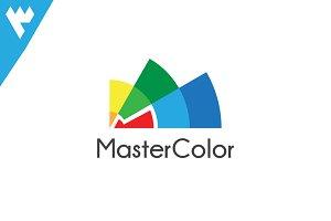 Master Color - Letter M logo