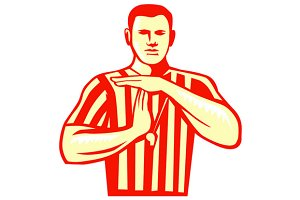 Basketball Referee Technical Foul Re
