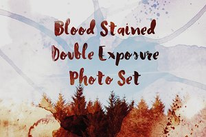 9 Blood Stained Photo Pack