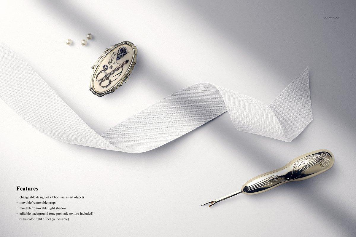 Cotton Ribbon Mockup 11 (39/FFv.9)
