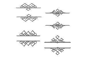 Vintage monograms