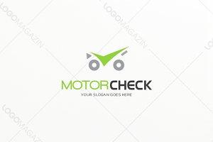Motor Check Service Logo