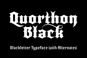 Quorthon Black – 5 Font Pack