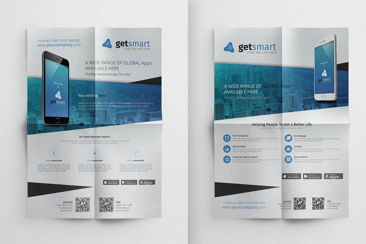 App Promotional Flyer ~ Flyer Templates ~ Creative Market