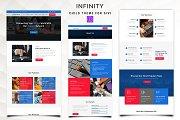 Infinity - Telecom Divi Child Theme