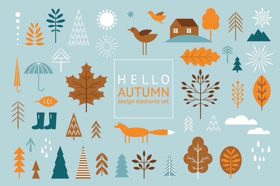 Hello Autumn in Illustrations