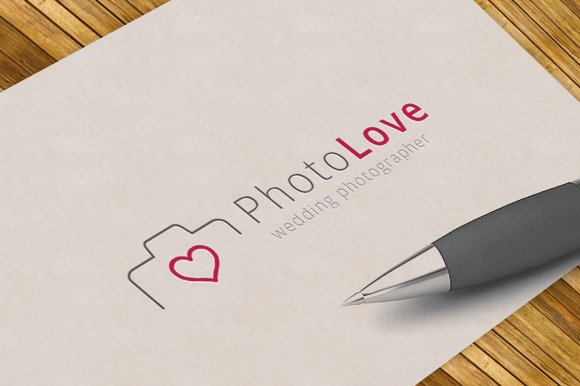 Photography Love - Logo Template in Logo Templates
