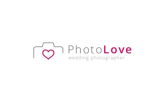 Photography Love - Logo Template in Logo Templates - product preview 2